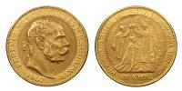 Ferenc József 1848-1916 100 korona 1907