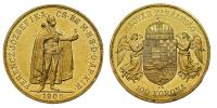 Ferenc József 1848-1916 100 korona 1908