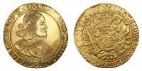III.Ferdinánd 1637-1657 10 dukát 1656 KB RRR!