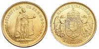 Ferenc József 10 korona 1892 UP.