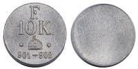 Ferenc József 10 korona súlypénz R!