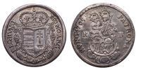II.Rákóczi Ferenc 1703-1711 1/2 tallér 1705