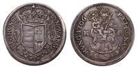 II.Rákóczi Ferenc 1703-1711 1/2 tallér 1706