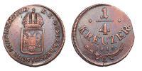 Ferenc 1792-1835 1/4 krajcár 1816 O