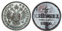 Ferenc József 1848-1916 1/4 krajcár 1851