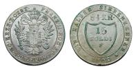 Ferenc 1792-1835 15 soldi 1802