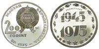 200 Forint 1975 próbaveret tervezet R!