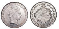 V.Ferdinánd 1835-1848 20 krajcár 1848