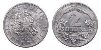 2 Schilling 1952 R!