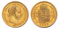 Ferenc József 4 Forint 1873 KB R!