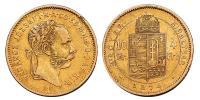 Ferenc József 4 Forint 1874 R!