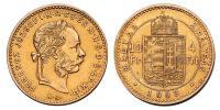 Ferenc József 4 Forint 1883 KB