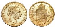 Ferenc József 1848-1916 4 Forint 1884 KB
