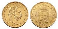 Ferenc József 1848-1916 4 forint 1885