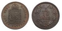 Ferenc József 1848-1916 5/10 krajcár 1882