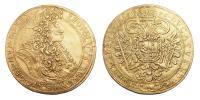 I.Lipót 1657-1705 5 dukát 1696 Kolozsvár