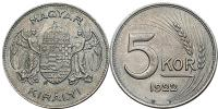 5 korona próbaveret 1922 R!