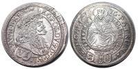 I.Lipót 1657-1705 VI krajcár 1676 Pozsony