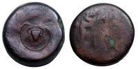 Szicília Akragas Circa 425/0-410/06 Hemilitron