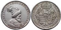 Bethlen Gábor 1613-1629 ezüst érem