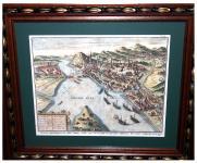Buda és Pest ostromának látképe 1602