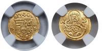 I.Ferdinánd 1526-1564 obolus aranyleveret 1540 KB