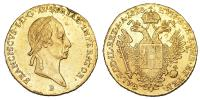 Ferenc 1792-1835 dukát 1828 B R!