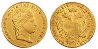 V.Ferdinánd 1835-1848 dukát 1848 E