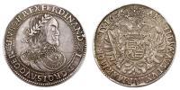 III.Ferdinánd 1637-1657 tallér 1656