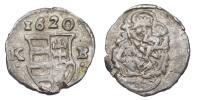 II.Ferdinánd 1619-1637 obolus 1620 KB RRR!