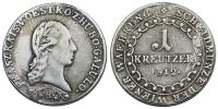 Ferenc 1792-1835 Ag 1 krajcár 1812 RRR!