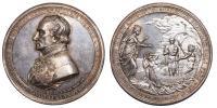 Ferenc 1792-1835 megmenekülési érem 1826