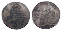 Ferenc 1792-1835 koronázási érem Buda 1792