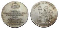 Ferenc 1792-1835 koronázási érem Prága 1792