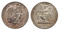 Ferenc József 1848-1916 ezüstlakodalmi gulden 1879