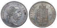 Ferenc József 1848-1916 Forint 1871 KB