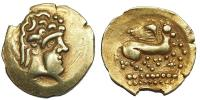 gall kelták- Mediomatrici ie.2. század 1/4 statér