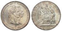 Ferenc József házassági 2 gulden 1854