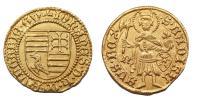 Hunyadi János 1446-1452 aranyforint R!