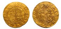 János Zsigmond 1559-1571 aranyforint 1570