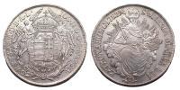 II.József 1780-1790 1/2 tallér 1782
