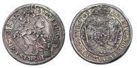 I.József 1705-1711 1/2 tallér 1709 KB