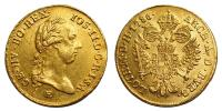 II.József 1780-1790 dukát 1786 E