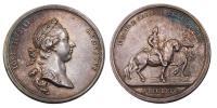 II.József 1765-1780 érem 1769