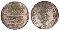 I.József pozonyi koronázási érem 1687