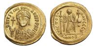 I.Justinian 527-565 solidus