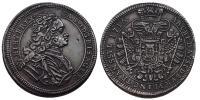 III.Károly 1711-1740 1/2 tallér 1716 Gyulafehérvár