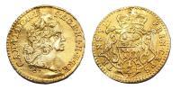 III.Károly 1711-1740 1/4 dukát