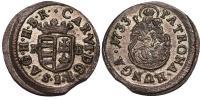 III.Károly 1711-1740 denár 1733