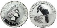 Kookaburra 1 dollár 2008